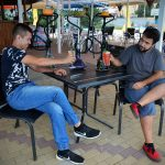 Лаунж-кафе в Аквапарке Лазурный
