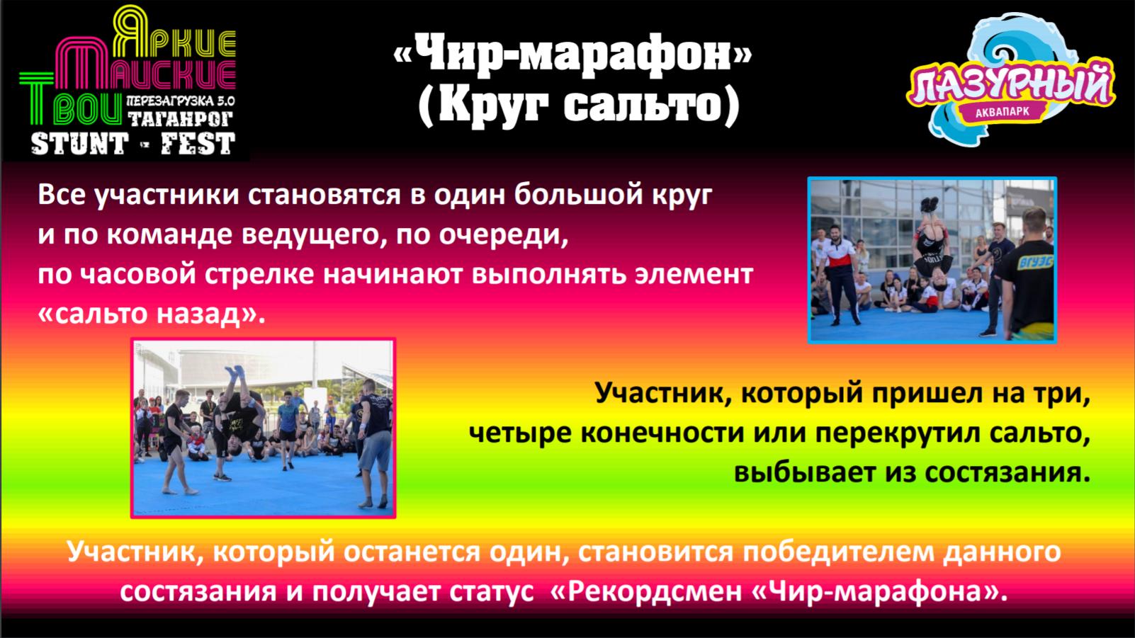 Мероприятие STUNT-FEST. Фестивальчирлидинга и акробатики